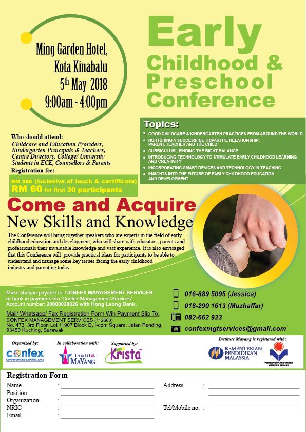 Early Childhood & Preschool Conference - Kota Kinabalu