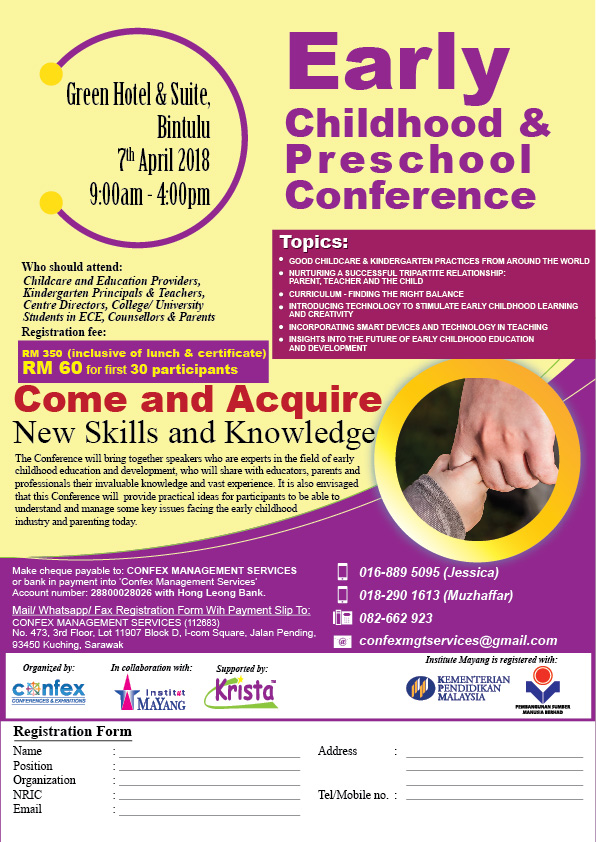 Early Childhood & Preschool Conference - Bintulu