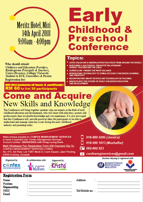 Early Childhood & Preschool Conference - Miri
