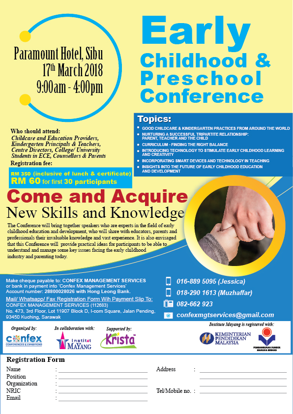 Early Childhood & Preschool Conference - Sibu